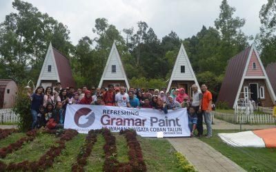 Wisata Bersama Karyawan Gramar Paint